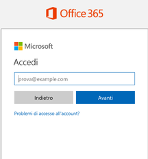 Come accedere a Office 365